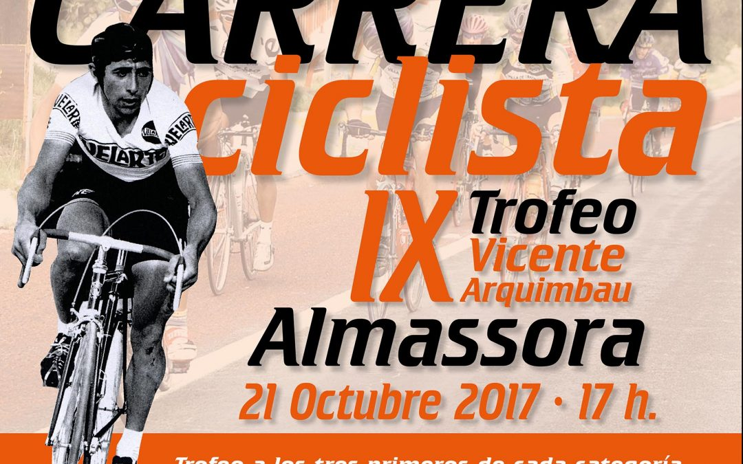 Carrera ciclista IX Trofeo Vicente Arquimbau – 21/09/2017